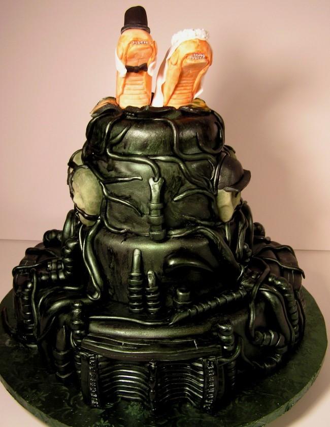 The aliens cake