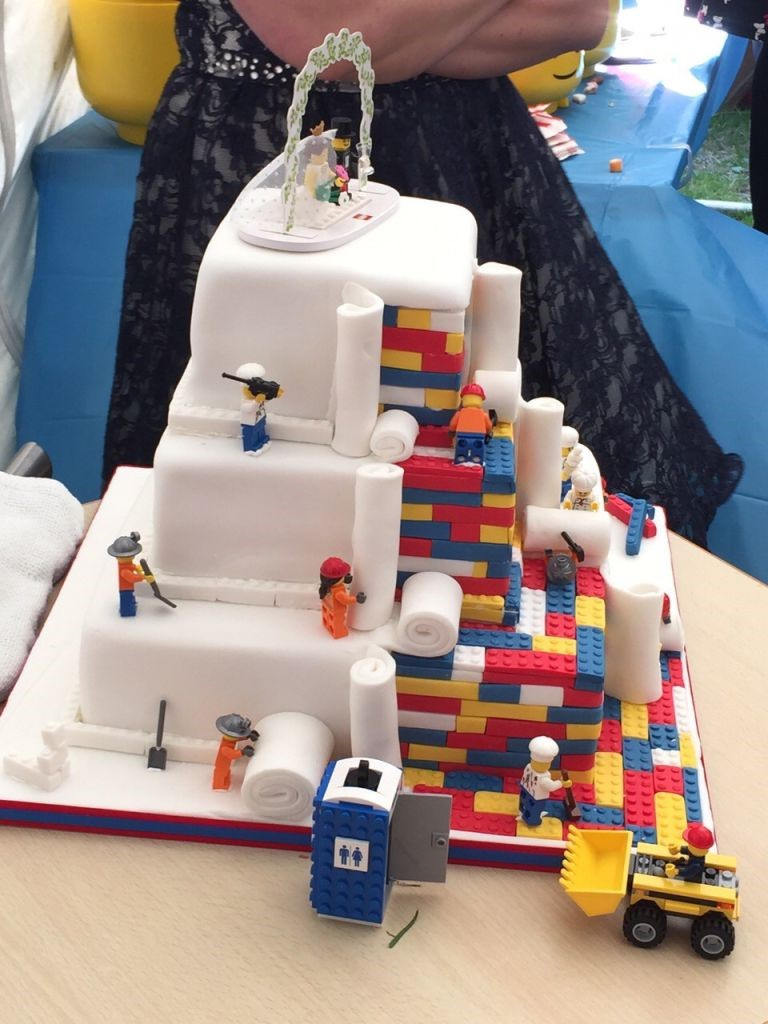 The Lego Cake