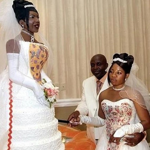 Most Outrageous Wedding Dresses