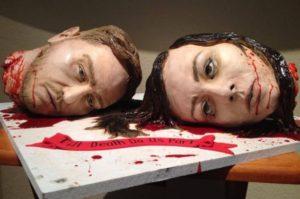 Til death do us part cake