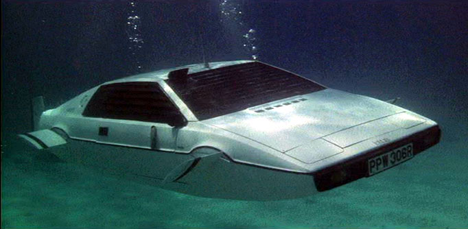 Lotus Esprit submersible - The Spy Who Loved Me