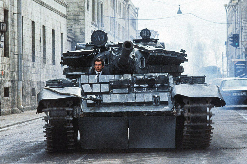 T55M5 Tank - Goldeneye