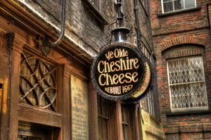 Ye Olde Cheshire Cheese Pub - London
