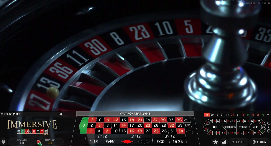 High level roulette heavensward