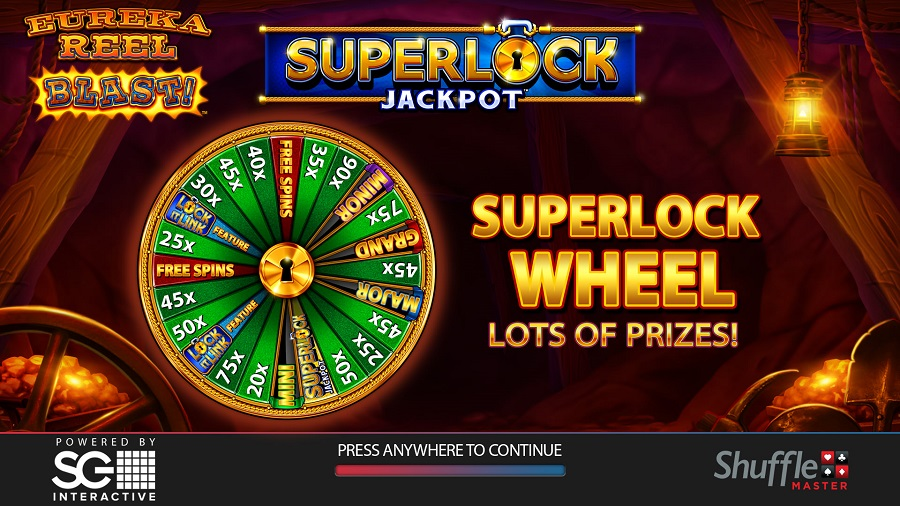 Out Now Eureka Reel Blast Superlock Jackpot 32red Blog